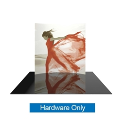 Formulate 8H 8ft Horizontally Curved Backwall Display Hardware Only offers graphic area to get you noticed at your trade show! Formulate Displays are available in three layouts: straight, horizontally curved, and vertically curved.
