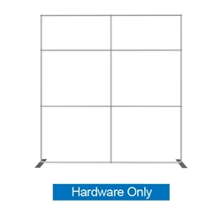 Formulate S1 10ft Straight Backwall Single Sided Display Hardware Only with Carry Bag. We offer fabric trade show banners, stretch fabric trade show booth kit, fabric tradeshow booth walls, hop up tension fabric display, showstopper exhibits