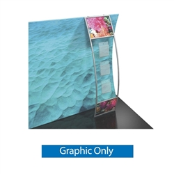 Graphic for Formulate Stand-off Literature Pockets. Display pamphlets, booklets and other literature on a stand-off designed to complement your Formulate tension fabric display.