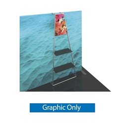 Graphic for Formulate Backwall Accent 11 adds a stunning graphic accent to any tradeshow display. This one-of-a-kind Formulate accessory works with either 10� or 20� backwalls and includes its own frame and pillowcase graphic.