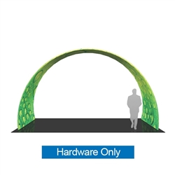 20ft x 12ft Formulate Arch 03 Tension Fabric Display Hardware Only add architecture and design to any event or interior space! Easily create and define a stunning entryway, focal point or stage set at your next tradeshow or event with Formulate Arches.