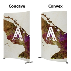 5ft x 8ft Modulate Frame Banner 01  -  is a stylish way to display media at any tradeshow, event, retail, corporate spaces. Modulate Fabric Banners feature unique angles and shapes, are portable and easy to assemble.
