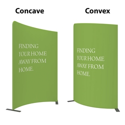 5ft x 8ft Modulate Frame Banner 02  -  is a stylish way to display media at any tradeshow, event, retail, corporate spaces. Modulate Fabric Banners feature unique angles and shapes, are portable and easy to assemble.