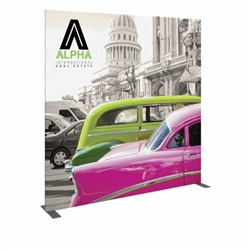 7.5ft x 7.5ft Modulate Frame Banner 07  -  is a stylish way to display media at any tradeshow, event, retail, corporate spaces. Modulate Fabric Banners feature unique angles and shapes, are portable and easy to assemble.