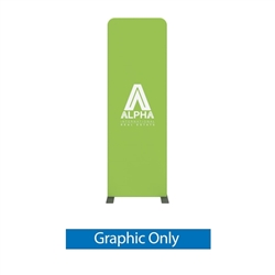 3ft x 8ft Modulate Frame Banner 10  -  is a stylish way to display media at any tradeshow, event, retail, corporate spaces. Modulate Fabric Banners feature unique angles and shapes, are portable and easy to assemble.