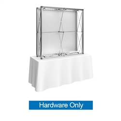 5ft x 5ft Embrace Backlit 2X2 Light Display - Lighting Kit Only. Portable tabletop displays and exhibits. Several different styles are available, including pop up frames with stretch fabric or fold up panels