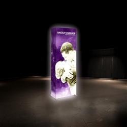 2.5ft x 7ft Embrace Backlit 1x3 Light Display - Double Sided
