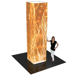 12ft Formulate Rectangular Fabric Graphic Towers Display Exhibit. When it comes to adding some much-needed texture to your trade booth, the Formulate line of towers is a great way of capturing your customers' attention at trade show or events