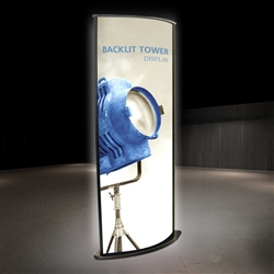 3ft Backlit Tower 03 Complete Opaque Kit (Hardware w/ Fabric Print) are highly effective 360-degree media enabling you to present a wide variety of solutions. Tower stretch fabric tower structures are designed to impress in in lobbies, showrooms, ret