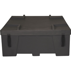 48 x 48 x 18 OCF2 Orbital Truss Shipping Crate for Displays is large, round, general purpose freight case is designed for heavy use with national and international exhibit freight shipments. It offers maximum protection for your exhibit materials.