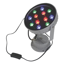 LED Colored Display Light Flashing Multi Pattern Multi Color Accent Display Color Blast Lighting. The perfect balance of form, fabric and lighting can create an impactful, powerful presence or display.