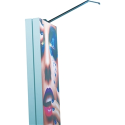 Slimline LED Exhibition Display Double Light Incorporate modern, bright LED light into your display and draw attention to your brand and message with elegance. With a contemporary profile, you can modernize your display, set the stage