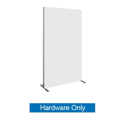 4ft x 6ft Vector Frame Rectangle 03 Hardware Only This is an indoor aluminum extrusion frame system. Each kit includes extruded aluminum frame, feet, assembly tool, single side dye sublimated fabric graphics, and hard case