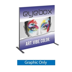 Single Side Graphic for 4ft x4ft Vector Frame Square Display 02-S. Vector tradeshow booths are available in variety of display sizes & styles to meet any advertising. Back wall booth displays offer a variety of options for customizing booth.