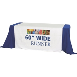 Premium Dye Sub Table Runner - Economy 60in
