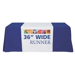 Premium Dye Sub Table Runner - Economy 36in