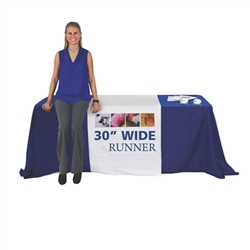 Premium Dye Sub Table Runner - Economy 30in