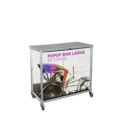 Portable Popup Bar Large (Hardware Only)