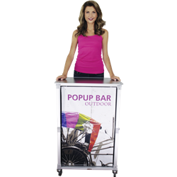 Portable Popup Bar Mini (Hardware Only)