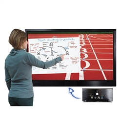 The SMA Series Monitor with 4K resolution is a modern and technological touchscreen, contemporary touches, allowing a perfect collaboration and interaction in meeting rooms, professional studios, museums and classrooms.