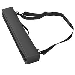 22in x 3in x 4in Testrite Travel Carry Bag For Light are specifically made for each banner stand. With it's sleek black color and quality stitching. Straps also allow you to easily carry your banner stand with you anywhere you go to trade show or event