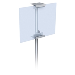 28in High CounterTop Sign Easel 1 Sided Clamp Base Black are specially constructed with a simple and contemporary design to easily coordinate with any retail store. Display Easels and Stands for Art, Sign and Plate Presentation