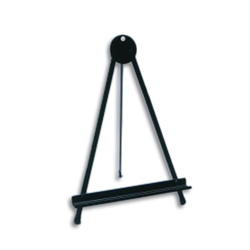 150 Lollipop Black Table Easel 16in. Many different types of artist table top easels, lightweight aluminum easels, superior strength steel easels.