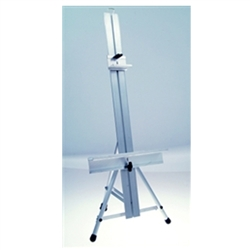 31in Height Studio Table Easel. Many different types of artist table top easels, lightweight aluminum easels, superior strength steel easels