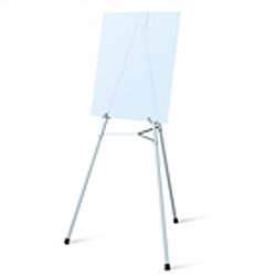 Telescopic Jumbo Aluminum Testrite Easels Display are used as a vertical, and sometimes horizontal, support to either display finished artworks or to use as an actual working surface. Available in a wide range of sizes