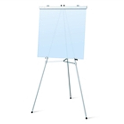 69in Height Telescopic Aluminum Flipchart Display Easel are used as a vertical, and sometimes horizontal, support to either display finished artworks or to use as an actual working surface. Available in a wide range of sizes