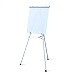 Telescopic Jumbo Aluminum Testrite Flipchart Easels Display are used as a vertical, and sometimes horizontal, support to either display finished artworks or to use as an actual working surface. Available in a wide range of sizes