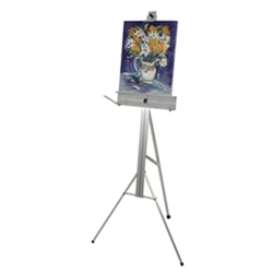68in Height Semi-Pro Easel Easel Display. Choose from countertop or floor standing Easel Displays in this online collection. Easel stands are normally associated with art, but they are also great for signage in a board room or conference