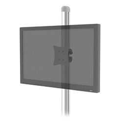 SignPost Fixed Universal Monitor Mount designed to get your marketing message noticed on the trade show or retail floor. These store displays hold 24in custom graphics that are easy to replace & update.