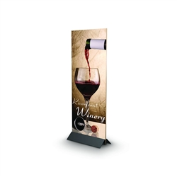 Mightee Mount designed to get your marketing message noticed on the trade show or retail floor. These store displays hold 24in custom graphics that are easy to replace & update.