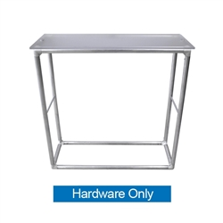 EZ Fabric Counter Trade Show Display Hardware only, developed to combine convenience and show. Fabric Counter features the same ease of use and setup as our popular Fabric PopUps. Tension Fabric Podium or counters are a great addition to any of displays