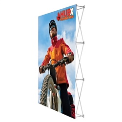 5ft x 7.5ft Straight RPL Fabric Display no Endcaps. RPL Fabric Pop Up Trade Show Display Single Sided is the perfect display on the go. RPL Fabric PopUp Display is the alternative display for Ready Pop fabric pop-up trade show backwall display