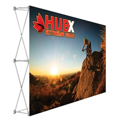 7.5ft x 5ft RPL Fabric Pop Up Table Top Exhibit is the alternative display for Our Ready Pop fabric pop-up display. RPL Tension Fabric Pop Up Table Top Display allow exhibitors to travel light and keep costs down for small shows and conferences.