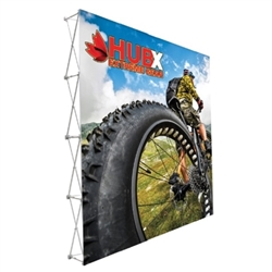 10ft x10ft Straight RPL Fabric Pop Up Display No Endcaps is the light version of our Ready Pop Fabric Pop Up Display. RPL displays reaches a height of 10 feet! 10ft x 10ft RPL Fabric Pop Up is the perfect display on the go. It's ready in minutes.
