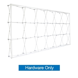 15ft x10ft Straight RPL Fabric Pop Up Display Frame ONLY is the light version of our Ready Pop Fabric Pop Up Display. RPL displays reaches a height of 10 feet! 10ft x 10ft RPL Fabric Pop Up is the perfect display on the go. It's ready in minutes.