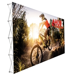 20ft x10ft Straight RPL Fabric Pop Up Display NO Endcaps is the light version of our Ready Pop Fabric Pop Up Display. RPL displays reaches a height of 10 feet! 10ft x 10ft RPL Fabric Pop Up is the perfect display on the go. It's ready in minutes.