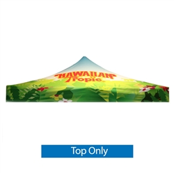 Dye - Sub Graphic Only for Classic Casita Canopy Tent 10 ft are an excellent way to provide shade for outdoor events. This canopy has a 10ft x 10ft footprint with five height settings settings on the legs.