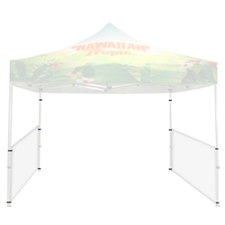 White  Half (Side) Wall for 10 ft Casita Canopy. We offer the highest quality canopy tents, party tents, shade canopies, tent tarps, canopy accessories & more at the lowest wholesale price to the public, excellent way to provide shade.