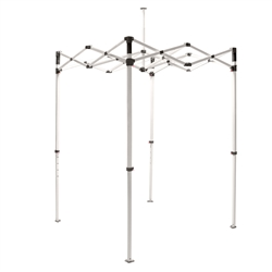 10ft Casita Canopy Tent Steel Frame Only . 3 different 10 ft. x 10 ft. tent frames: Casita Steel, Casita Heavy Duty and Casita Canopy! Graphics are printed using a UV-curing process on special water resistant material.