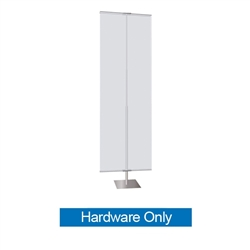36in Classic Banner Stand Large Silver With Square Base Hardware Only. We offers a full line of trade show displays, pop up booths, banner stands, table top displays, banner stands, hanging banners, signs, molded shipping cases.
