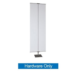 36in Classic Banner Stand Large Black With Square Base Hardware Only. We offers a full line of trade show displays, pop up booths, banner stands, table top displays, banner stands, hanging banners, signs, molded shipping cases.