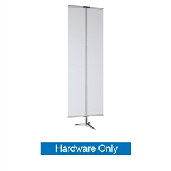 36in Classic Banner Stand Large Black With Travel Base Hardware Only. We offers a full line of trade show displays, pop up booths, banner stands, table top displays, banner stands, hanging banners, signs, molded shipping cases.