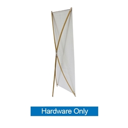 The Zen Bamboo Banner Stands provide an easy and affordable way to display your graphicsat trade show or event. With quick and easy set up, the bamboo poles put tension on the banner providing a tight, straight, and professional appearance.