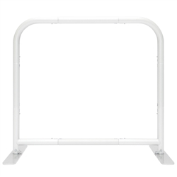 3ft x 3ft EZ Barrier Small - Frame Only. We offers a full line of trade show displays, pop up booths, banner stands, table top displays, banner stands, hanging banners, signs, molded shipping cases.