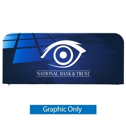 6ft x 3ft EZ Barrier Large - Single-Sided (W/ White Back Fabric) - Graphic Only. We offers a full line of trade show displays, pop up booths, banner stands, table top displays, banner stands, hanging banners, signs, molded shipping cases.