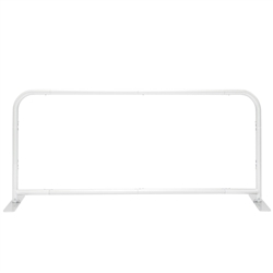 6ft x 3ft EZ Barrier Large Trade Show Display Hardware Only | Metal Tube Backdrop Frame for Tension Fabric Sub-Dye Pillowcase Graphics | xyzDisplays.com